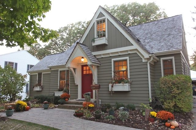 15 Small House Outdoor Paint Colors