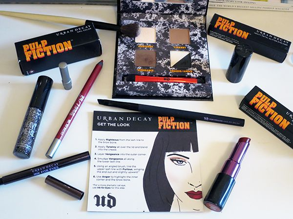 Urban Decay Limited Edition Pulp Fiction Range
