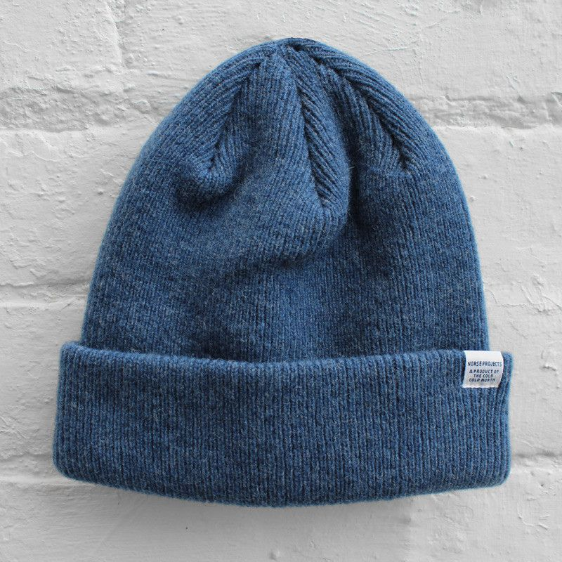 f75812233 Norse Projects Norse Beanie - Iris | Want them all | Norse projects ...