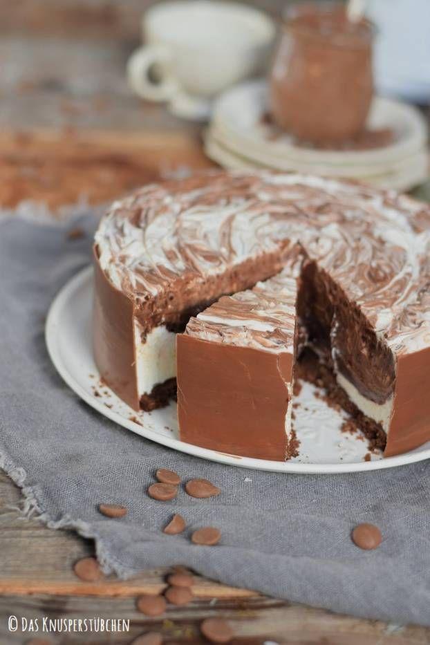 Schoko-Traum: Diese Eis-Torte ist die verführerischste Sünde des Sommers | BRIGITTE.de
