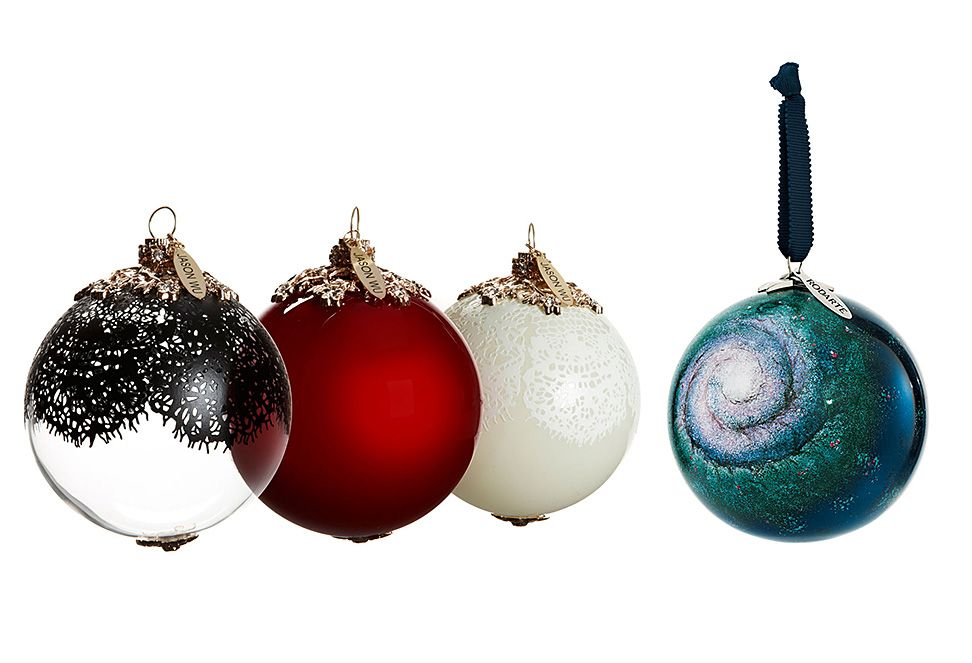 take a look at these designer christmas ornaments by jason wu and rodarte that are being jointly sold by neiman marcus and target this year