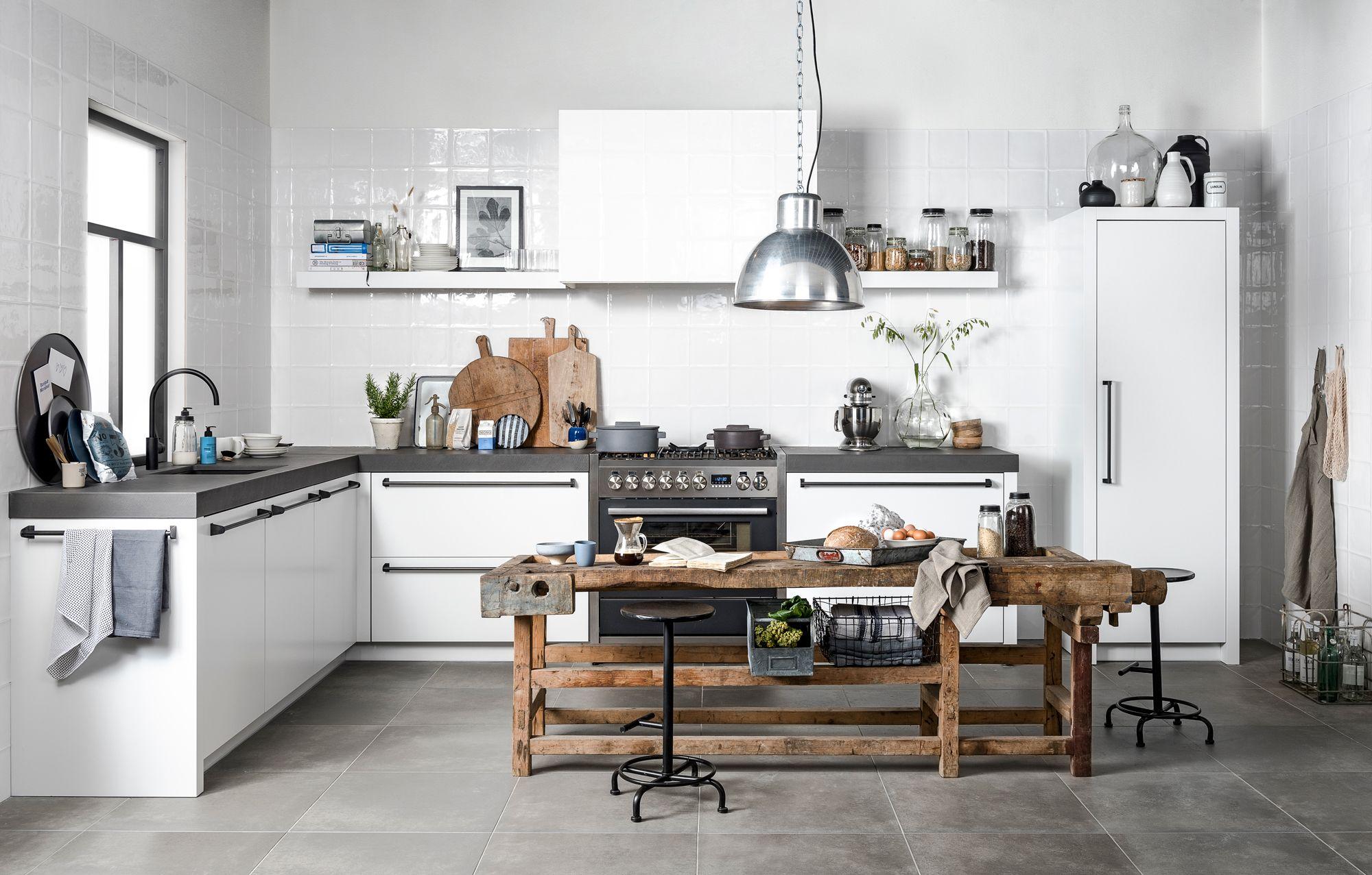 Vtwonen Keuken Houten : Nieuw de vtwonen keuken houten of witte fronten eiland of hoek