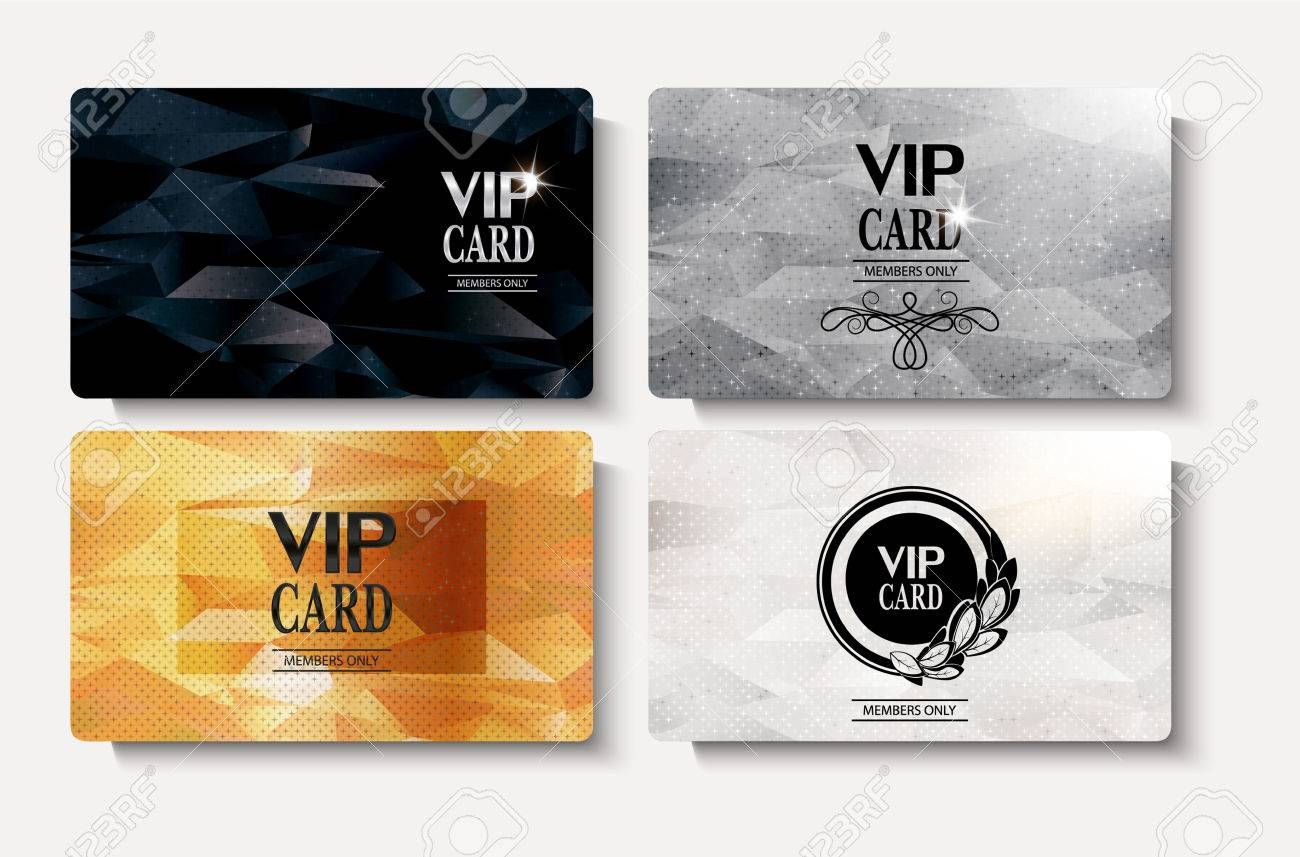 Elegant Pvc Vip Card A Special Design Membership Card To Help You Promote Your Company Vip Card Credit Card Design Membership Card