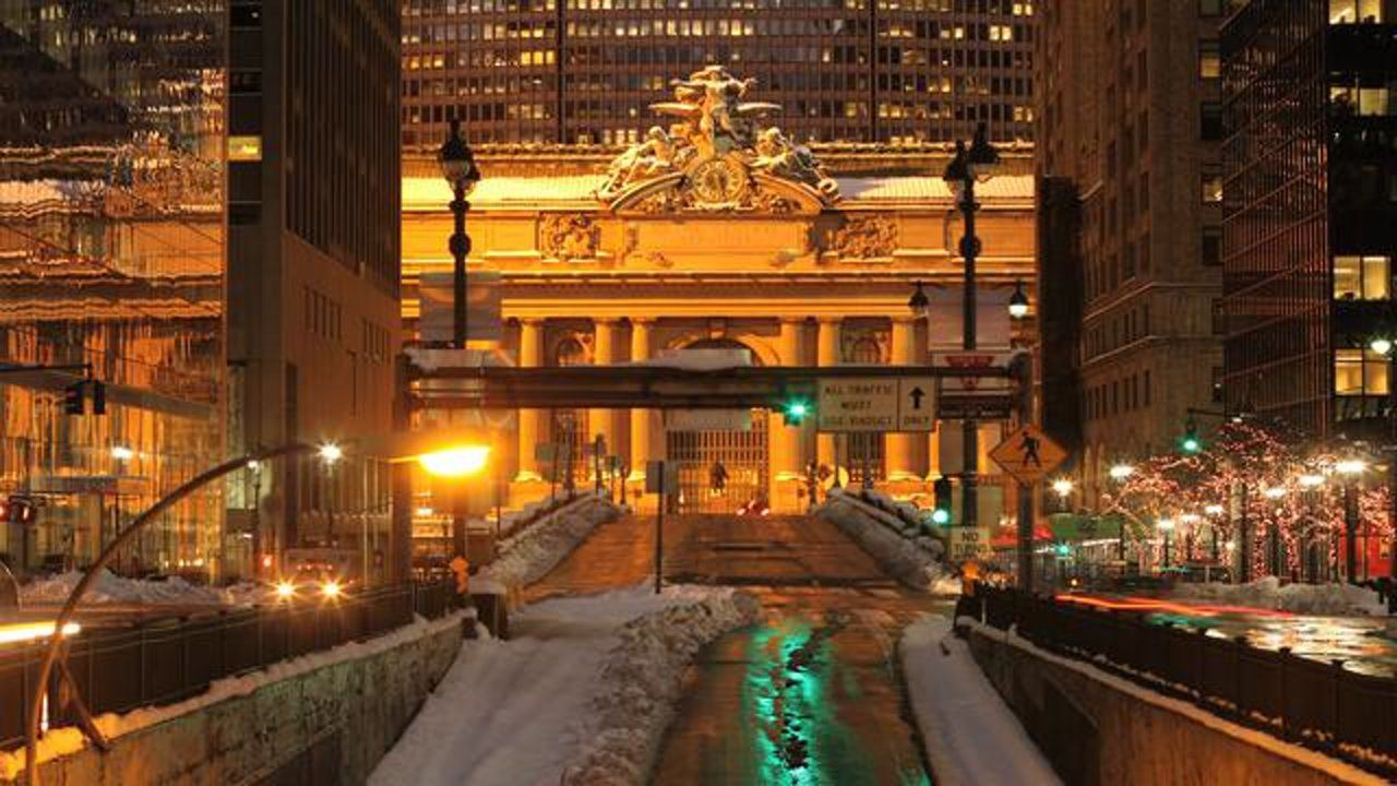 James Ogle created a beautiful time lapse video of New York City. via Alex Blagg