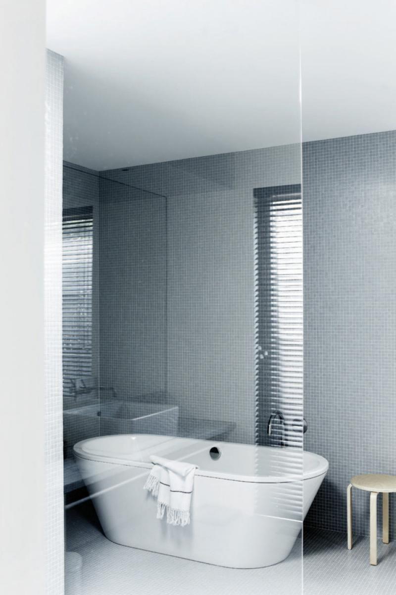 bathroom grey tiles glass screen   Bathrooms   Pinterest   Bathroom ...
