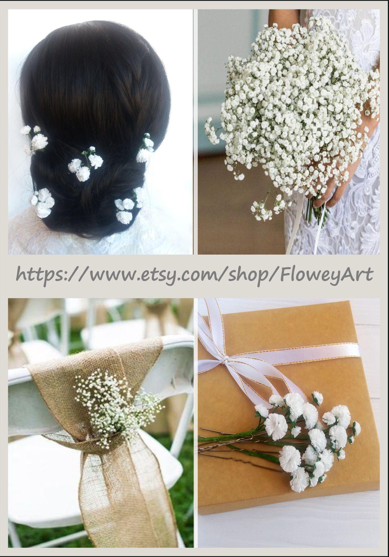 rustic baby s breath wedding gypsophila hair pins rustic baby s breath wedding