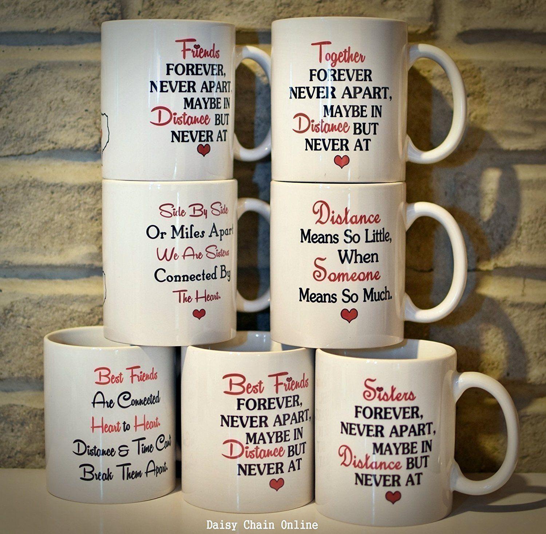 Best friend long distance mug going away gift moving