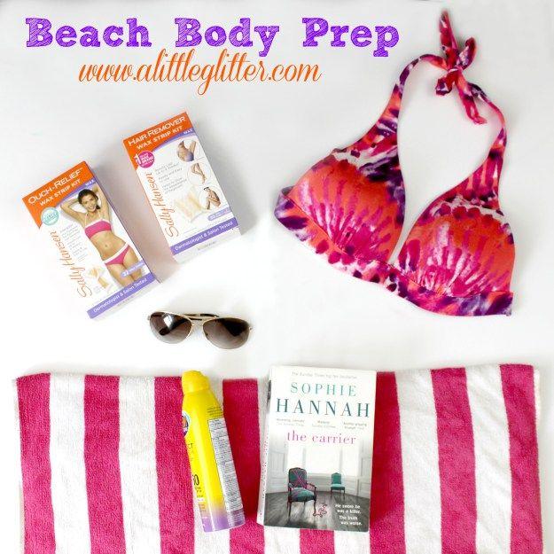 Beach Body Prep #SimplySmooth #Ad
