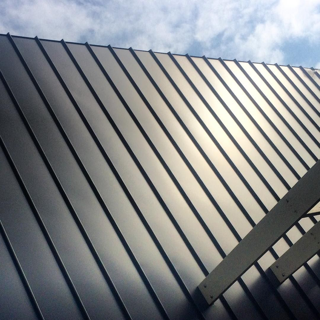 Colorbond roofing colours pictures to pin on pinterest - Colorbond Standing Seam Roof And Wall Cladding Installed By Retro Roofing