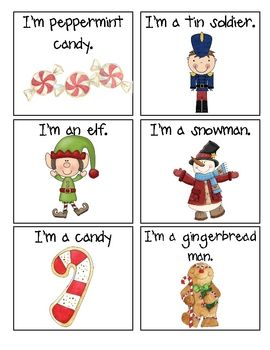 Holiday Hedbanz Cards Holiday Lessons Classroom Crafts Teaching Autistic Students
