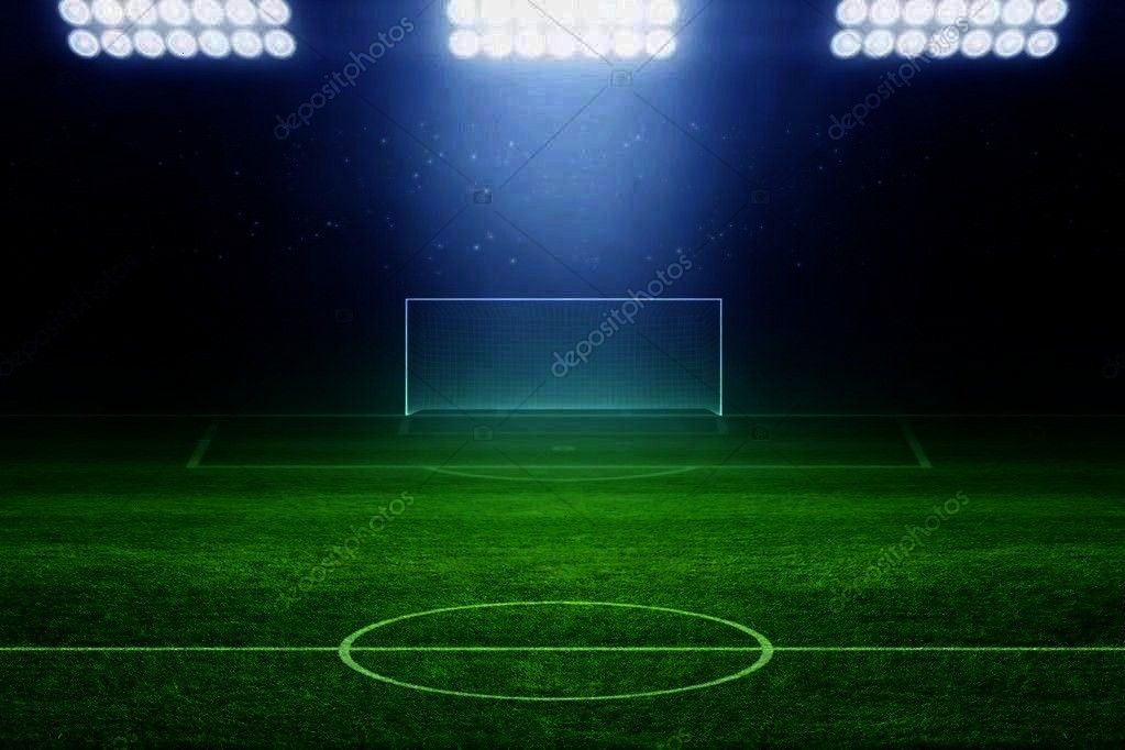 stadium - Stock Photo ,  6328 Soccer Stadium Field Backdrop  Christmas card with neon tree  Cool Li