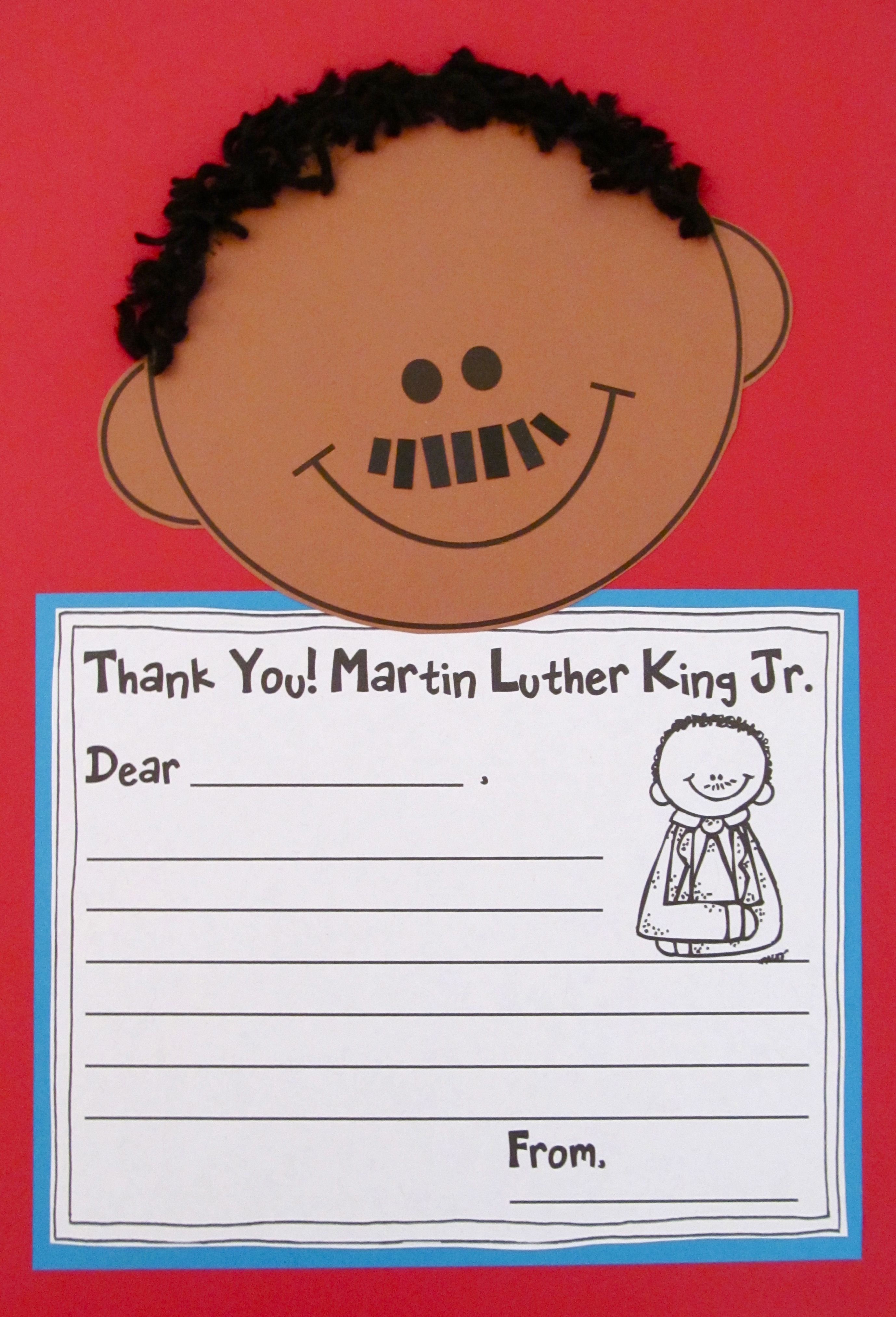 Martin Luther King Jr Mlk Day Activities And Craft