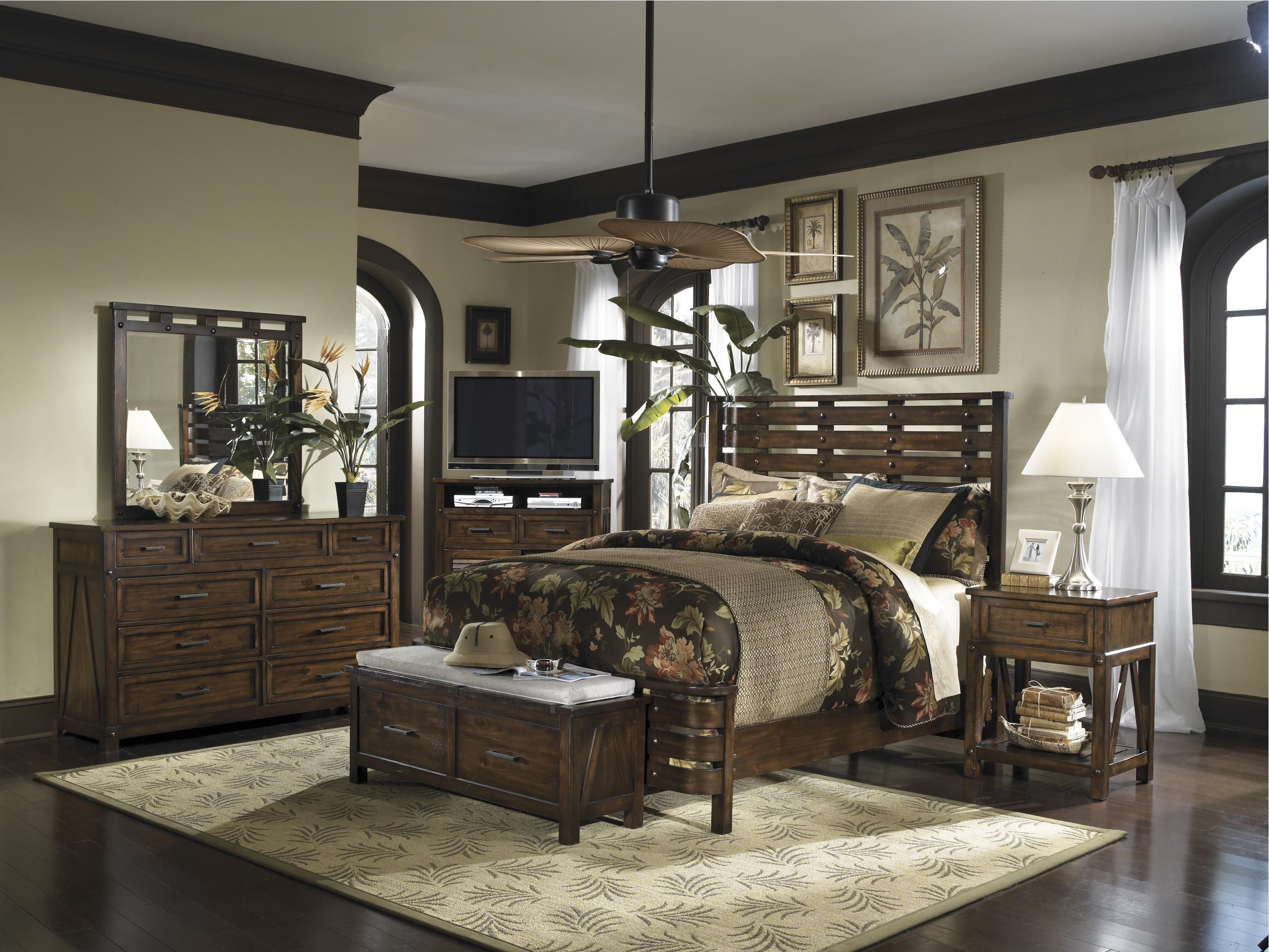 Panama Jack Eco Jack Alternate Bed Frame Home 5 Piece