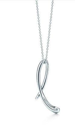 Elsa peretti letter l pendant elsa peretti elsa and initial tiffany co elsa perettiletter l pendant aloadofball Gallery