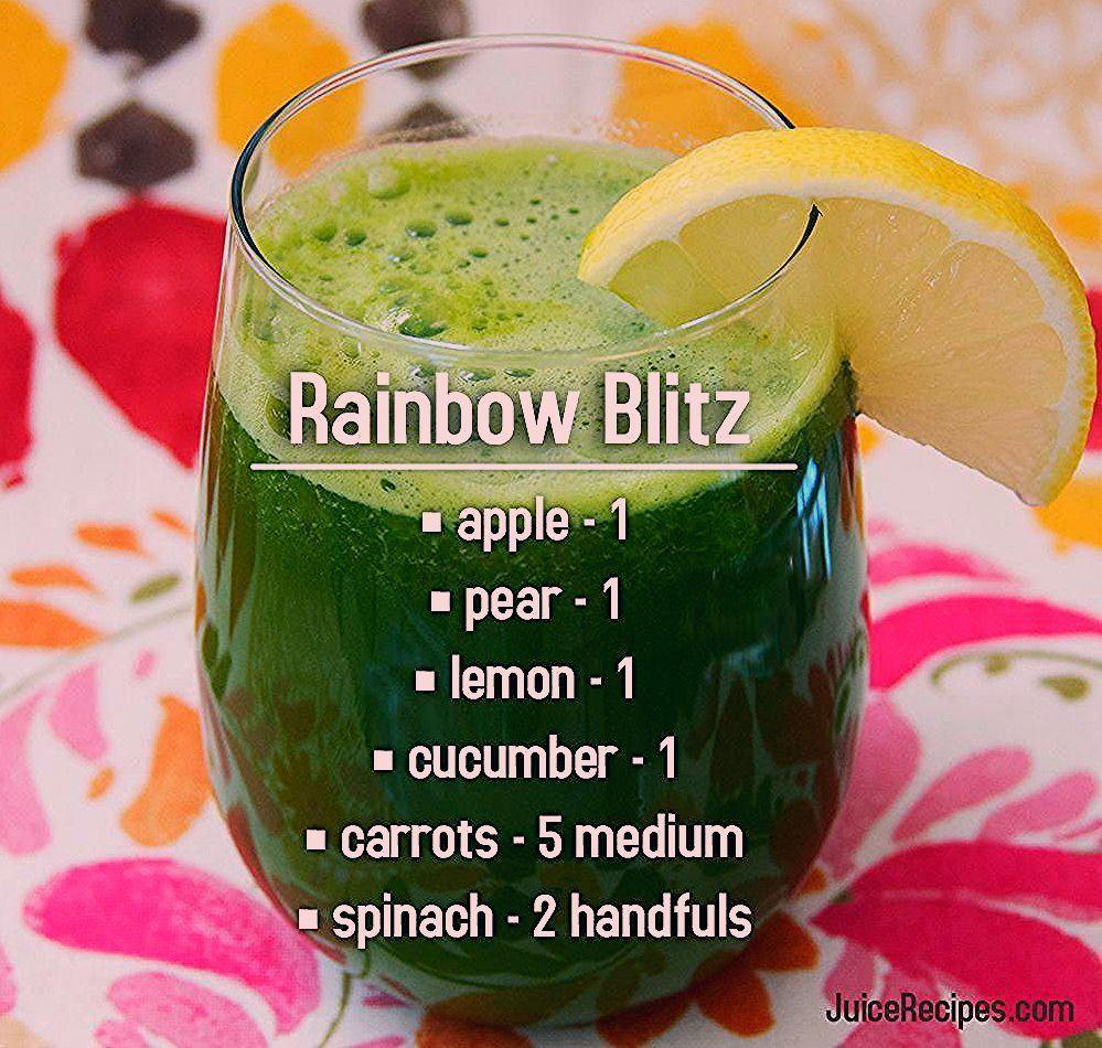 Rainbow Blitz // Saft, Entsaften, Saftreinigung, Saftdiät, Fitness, Gesundheit, Nuss ... -  Rainbow...