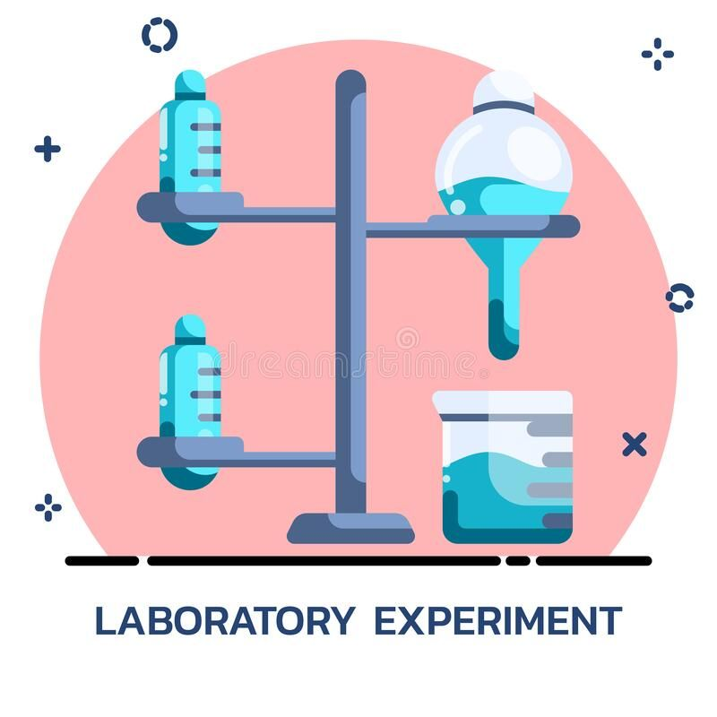 Science Chemical Experiment Flat Style Icon Design For Mobile Application Webs Sponsored Ad Ad Experiment Flat Design Icons Icon Design Experiments