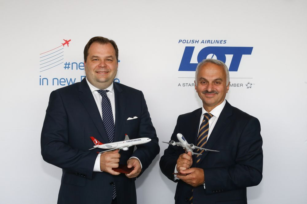 LOT and Turkish Airlines Move Towards Future Joint Venture Agreement