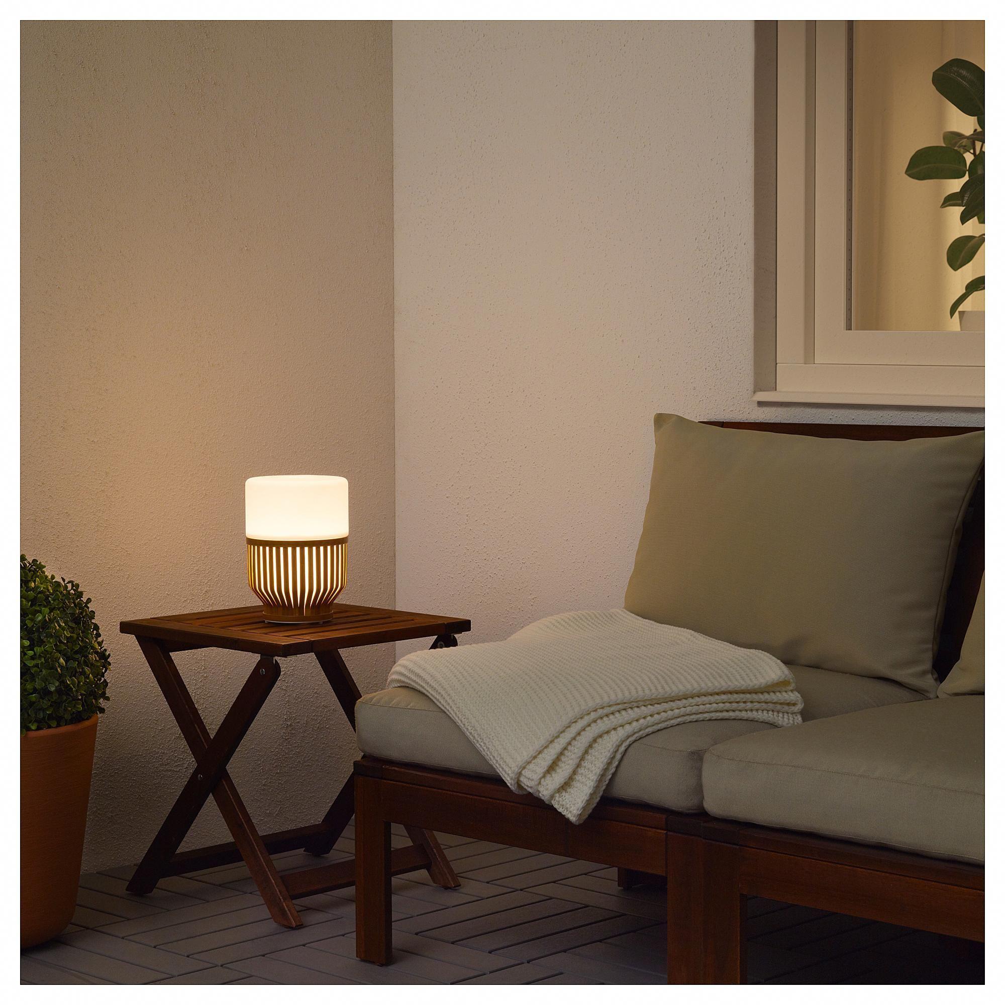 MULLBACKA LED table lamp IKEA #solarpanels,solarenergy
