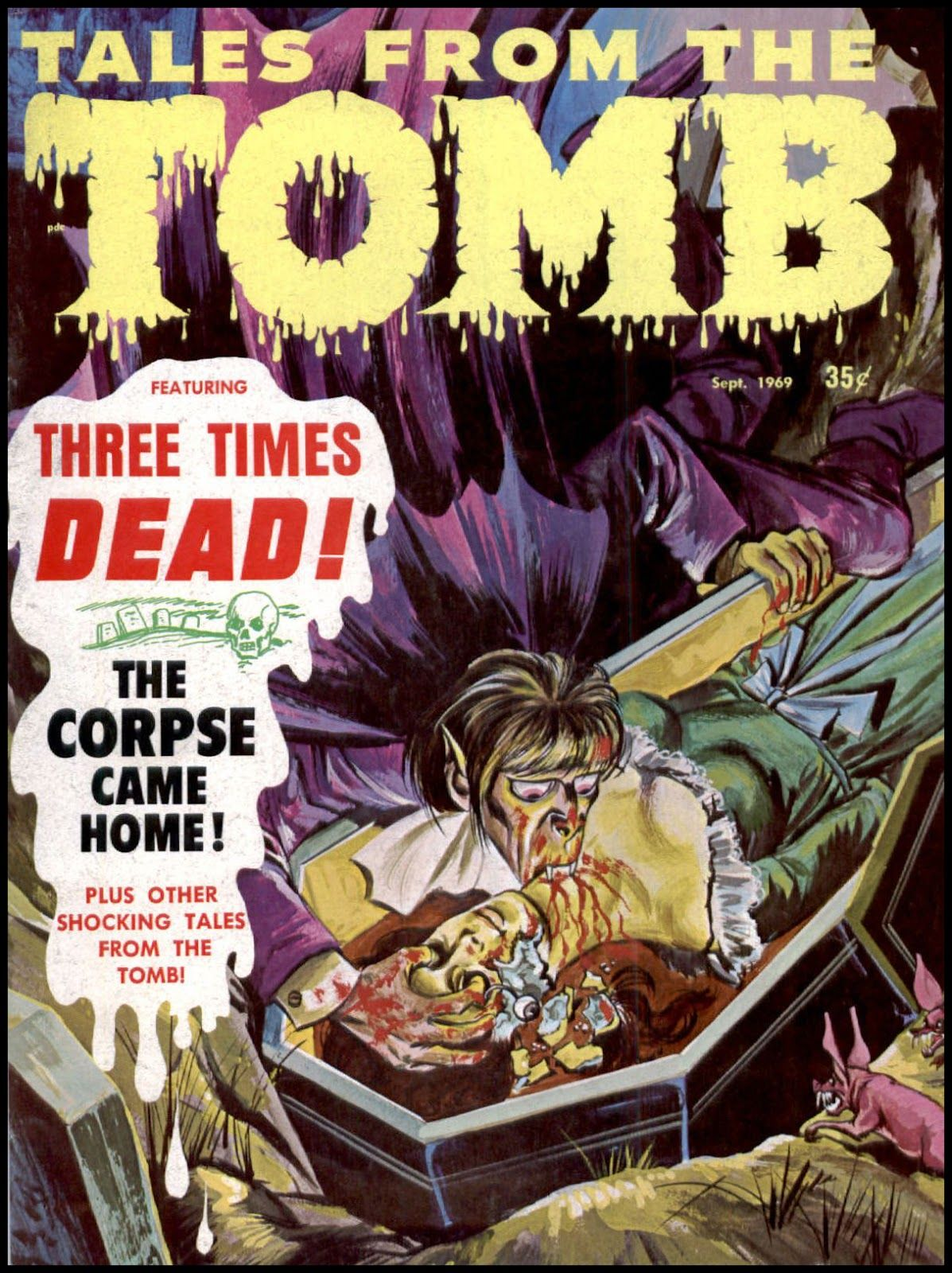 """wonderful-strange: """" Tales From the Tomb, September 1969. """""""