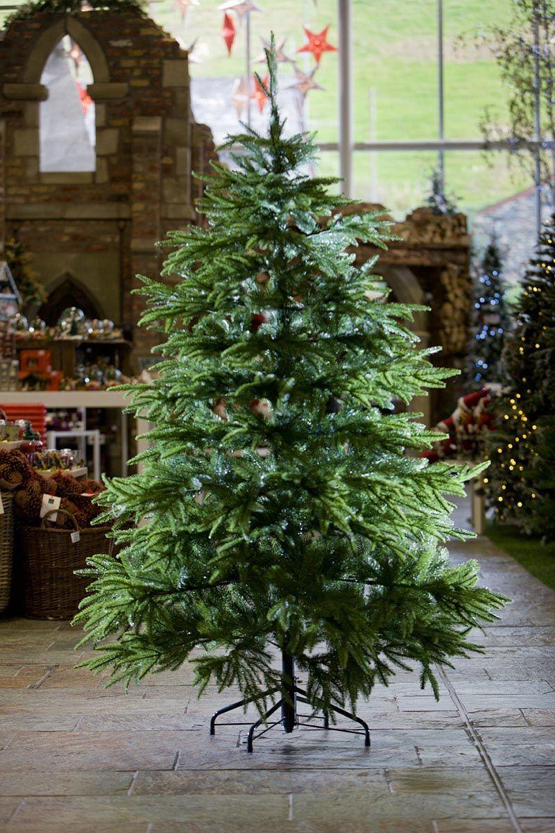 9ft English Pine 100 FeelReal Artificial Christmas Tree