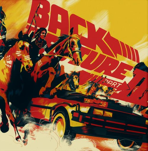 Back To The Future Iii Matt Taylor Back To The Future Future Album Vinyl Poster