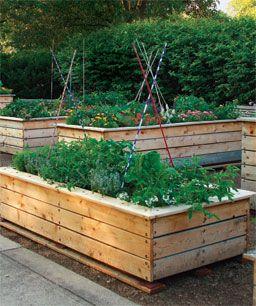 Stylish Raised Beds Finegardening Garden Beds Vegetable