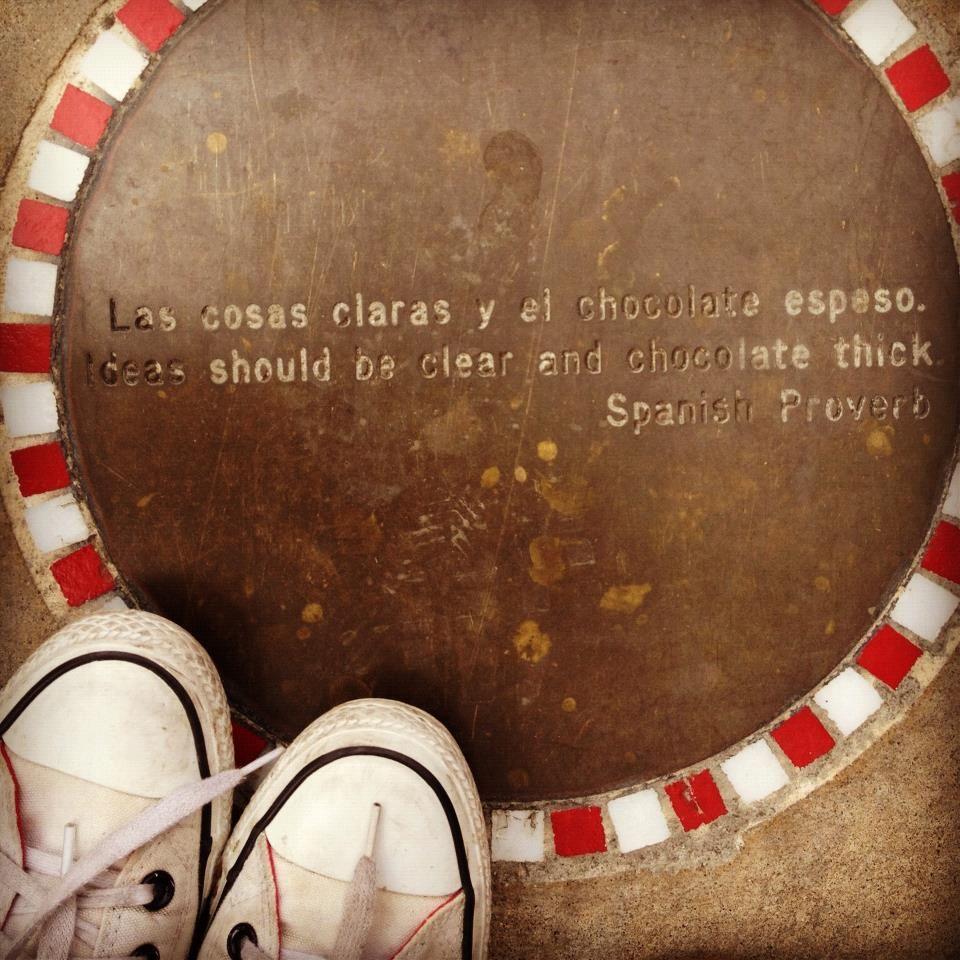 I'll take that chocolate metaphor.   Teaching Spanish   Pinterest ...
