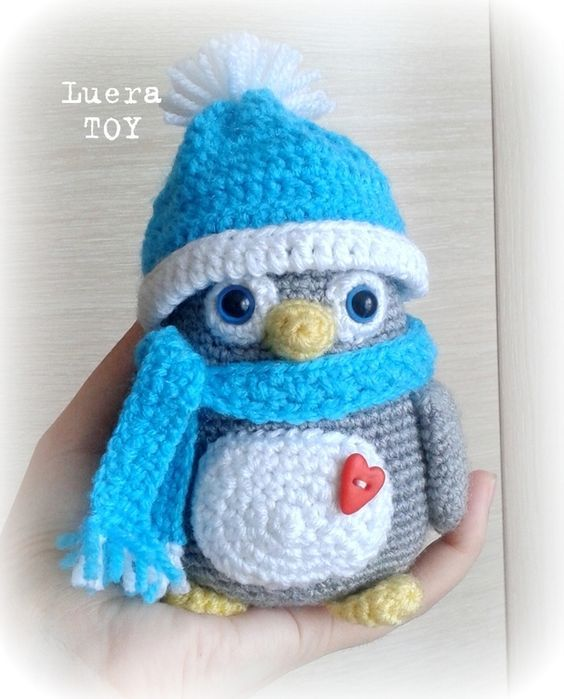 Amigurumi Penguin Crochet : Amigurumi penguin free crochet pattern tutorial