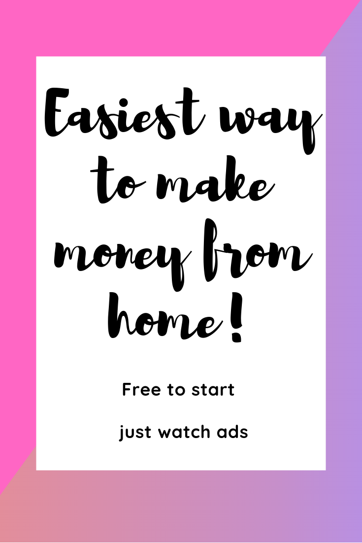 Work From Home Just Watching Ads Online