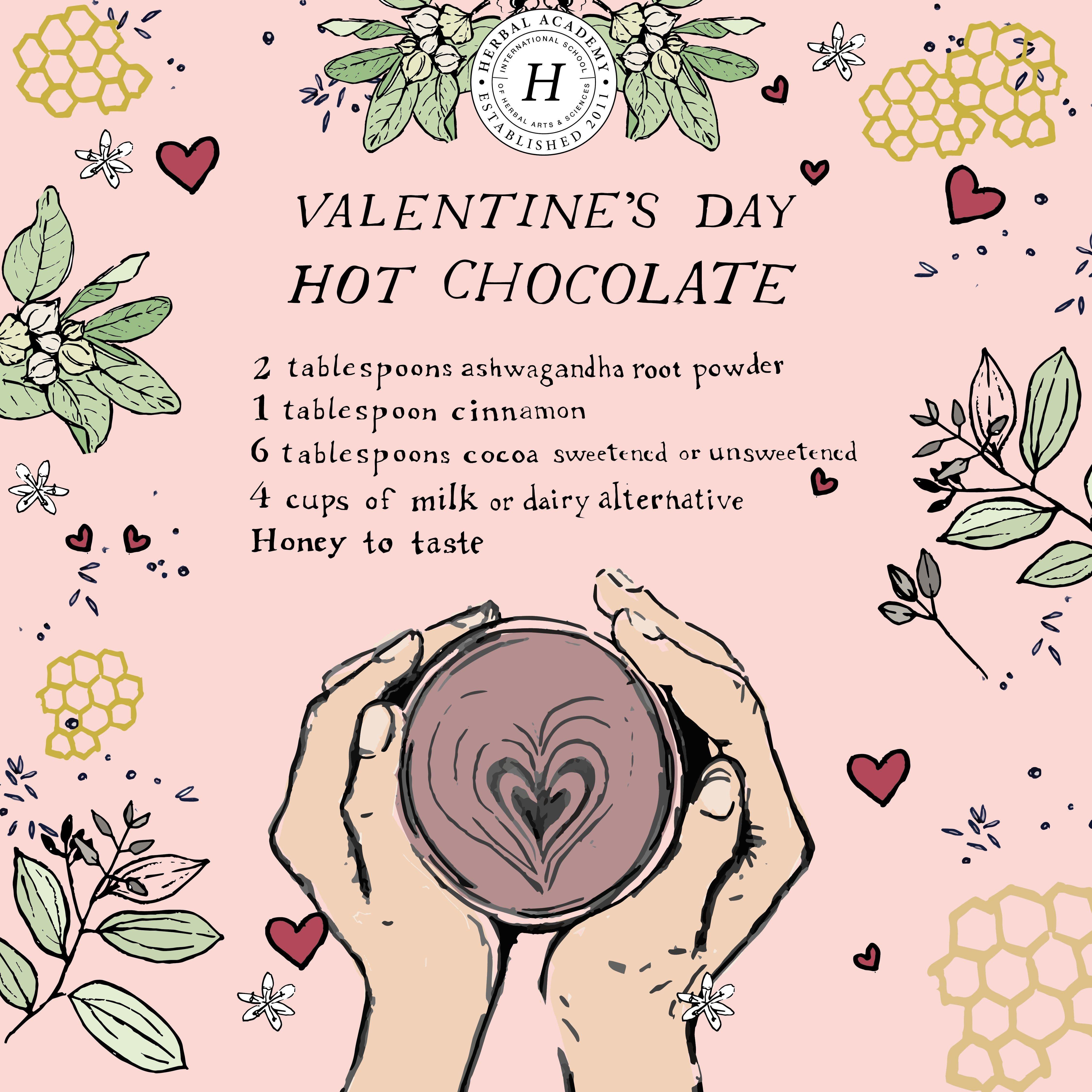 Photo of Valentine's Day Hot Chocolate – Herbal Academy