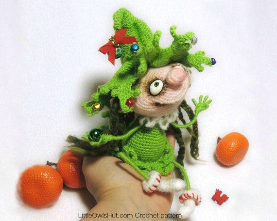 064 Puppe Marie den Weihnachtsbaum Amigurumi von LittleOwlsHut ...