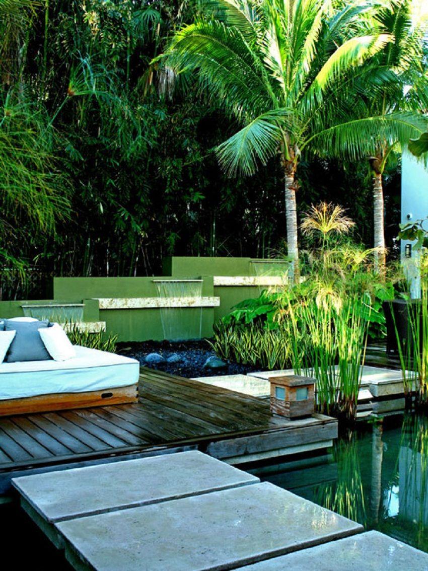Contemporary Balinese Water Garden Decor Style | Gardens, Gates ...