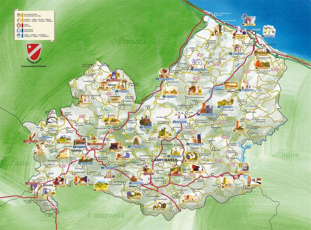 Cartina Molise Geografica.Molise Cultura Viaggi Corpus Domini Viaggio