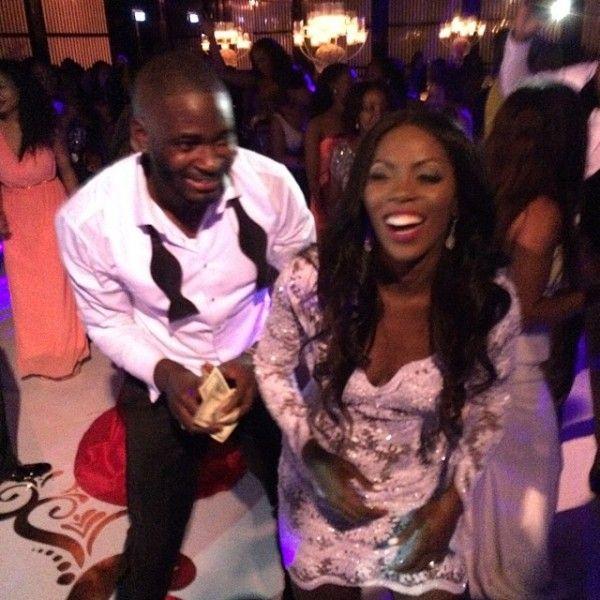 daygist.blogspot.com: PHOTOS: Tiwa Savage And Husband At Dr Sid's Birthd...