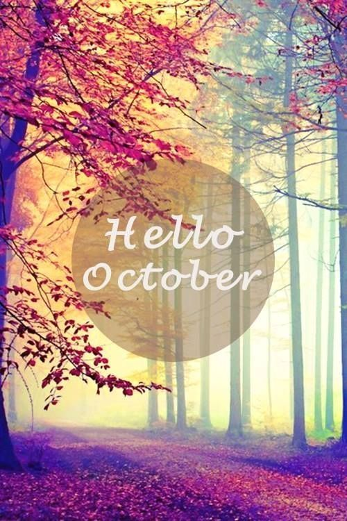 October Tumblr Hello October Pictures Photos And Images