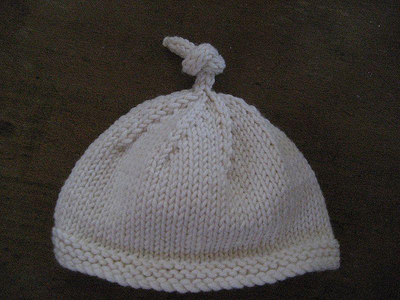 Newborn hat pattern free knitting patterns pinterest knitting newborn hat pattern free dt1010fo