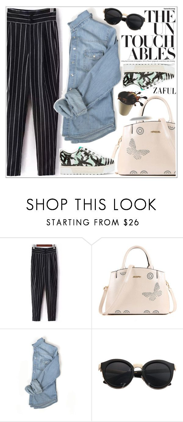 """""""Zaful"""" by teoecar ❤ liked on Polyvore featuring Kenzo and zaful"""