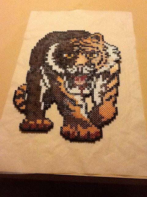 Tiger beads - Perler® | Gallery