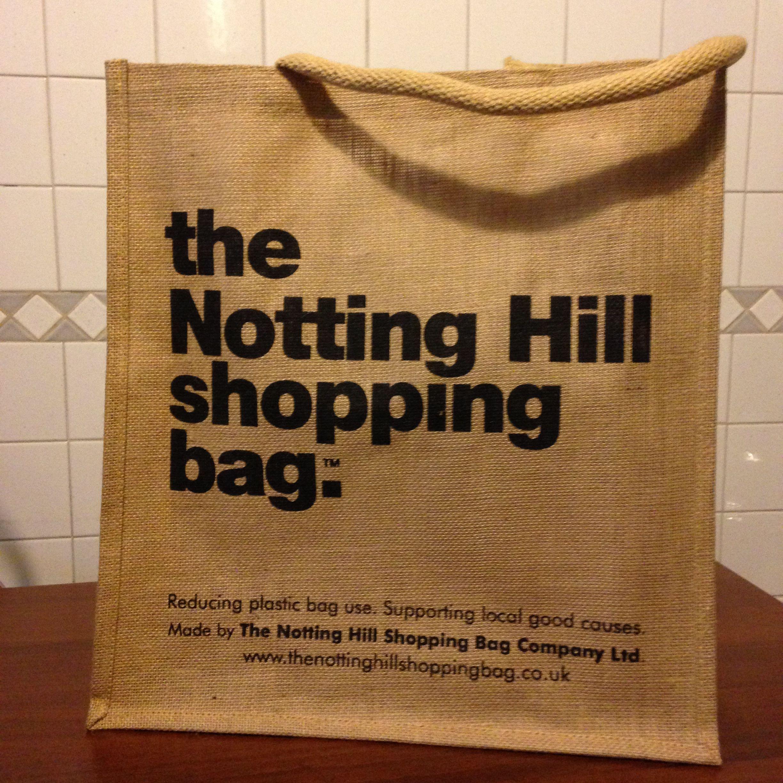 March 3, 2016 #NottingHill #shoppingbag