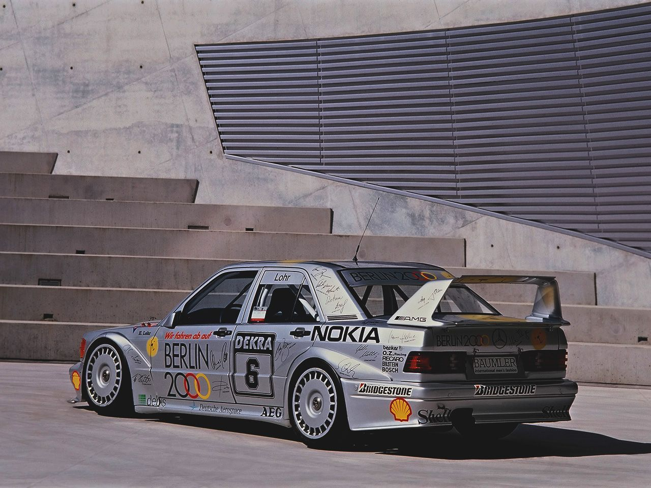 Mercedes Benz AMG 40th Anniversary 190E 2 5 16 Evolution II DTM