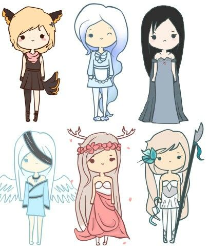 Pin By Jacqlyn Davis On Anime Cute Cartoon Drawings Kawaii Girl