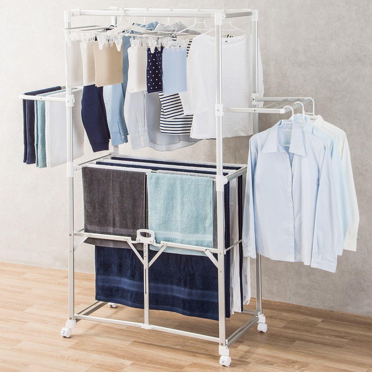 ニトリ 大型アルミ室内物干し Can Dry通販 Clothes Drying Racks Furniture Delivery Drying Clothes