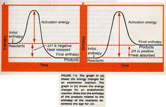 Heat Of Reaction Reflects The Difference In Enthalpy Between The Products And The Reactants Teaching Chemistry Chemistry Education Teaching Science