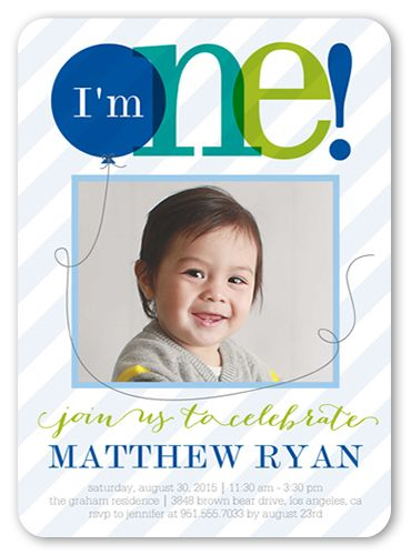 birthday invitation cards for boys