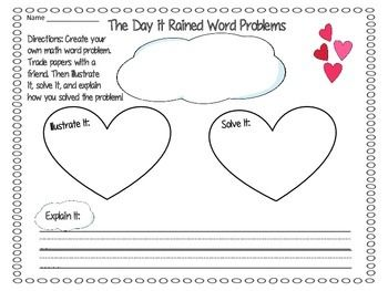 the day it rained hearts by felicia bond math activities math rh pinterest com if you give a moose a muffin coloring pages if you give a moose a muffin - If You Give A Moose A Muffin Coloring Pages