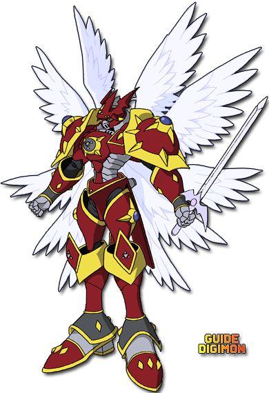 Gallantmon Crimson Mode Digimon Digimon Tamers Anime