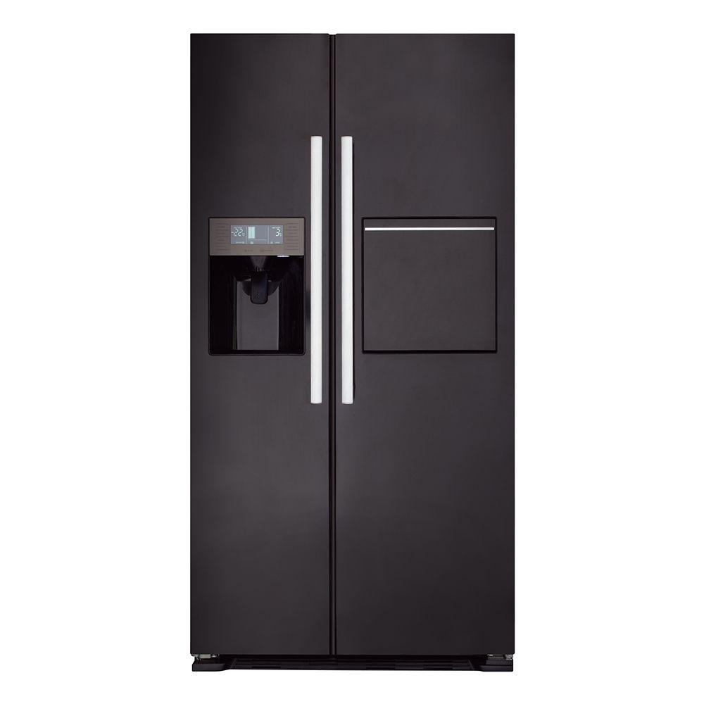 American Side By Side Fridge Freezer Part - 48: PC70BL - American Style Side-by-side Fridge Freezer | CDA Appliances | Built