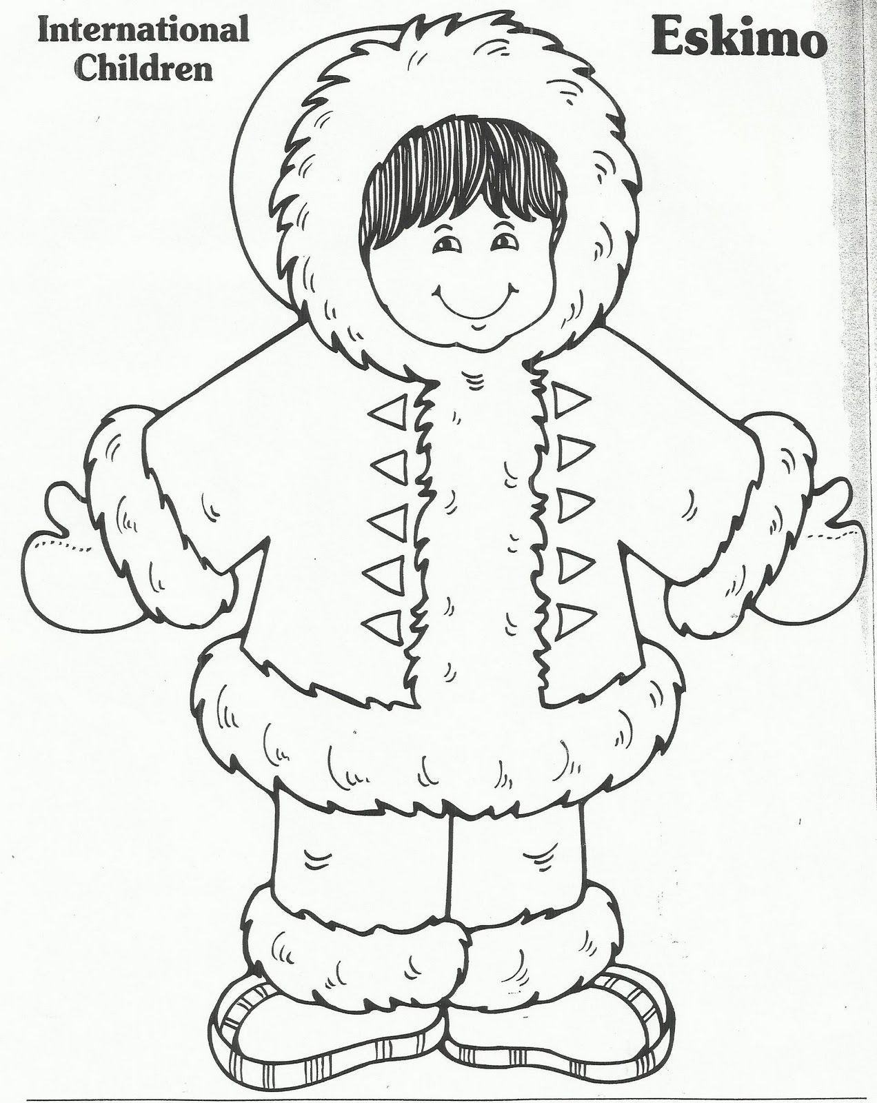 Eskimo Winter Crafts Preschool Winter Preschool Polar Animals