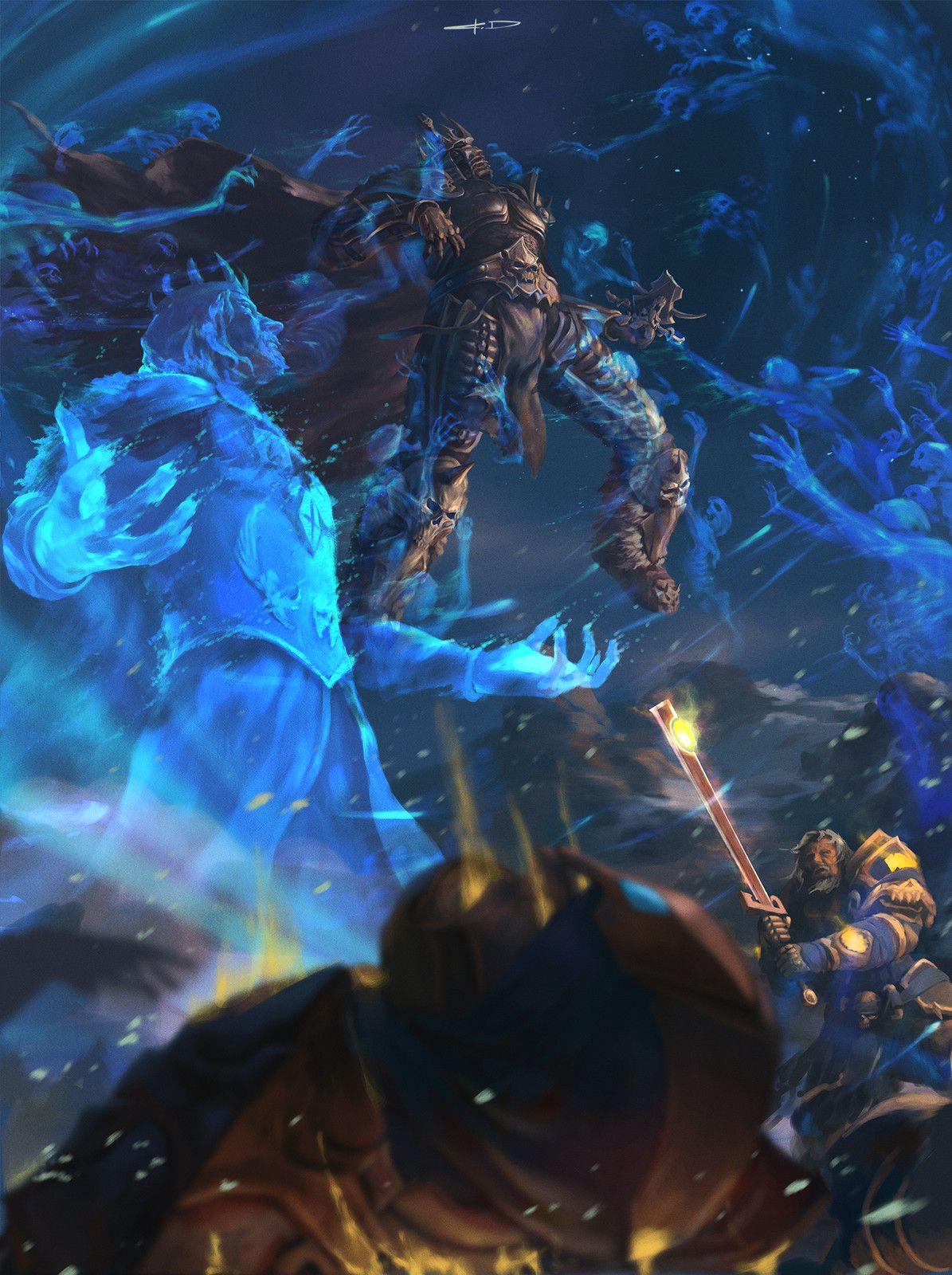Pin By Allen Su On 場景 Warcraft Art World Of Warcraft Game