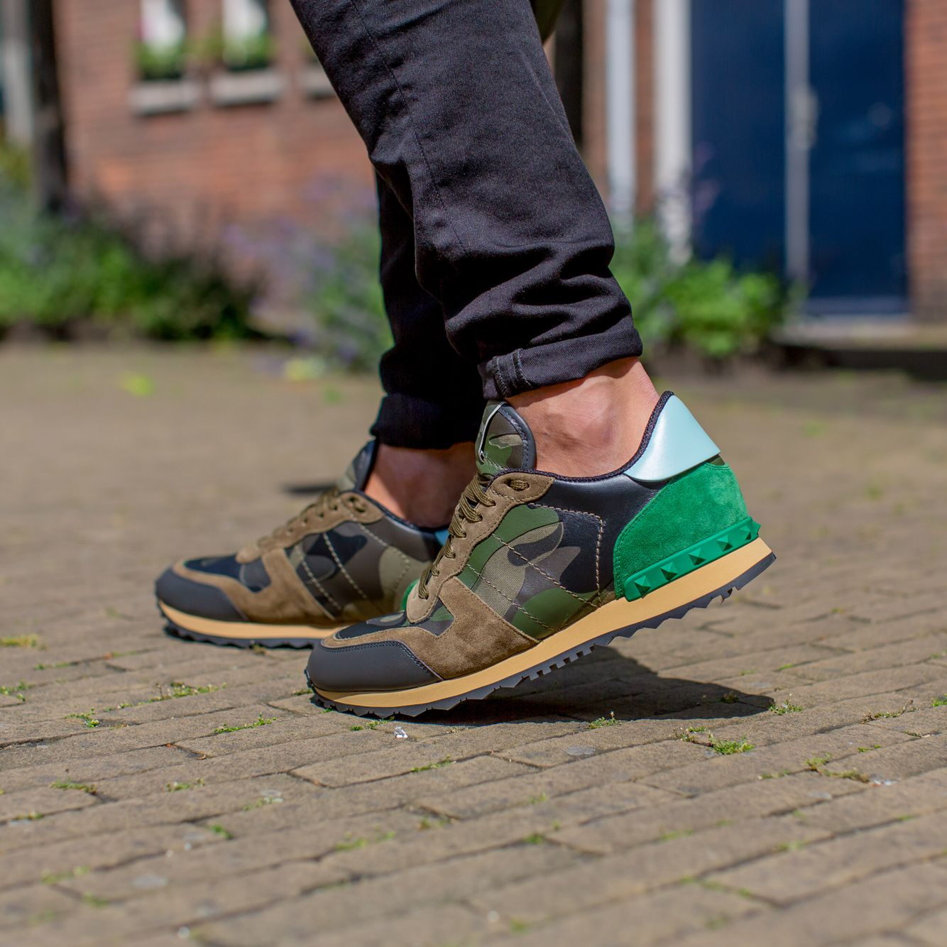 d664758bea167 VALENTINO | NEW ARRIVALS | DERODELOPER.COM The Valentino rockrunner  camouflage sneaker for the fall / winter 2016 collection. Available Online  & In Store ...